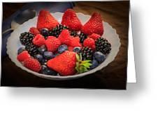 Bowl Of Fruit 1 Greeting Card