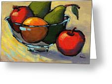 Bowl Of Fruit 5 Greeting Card