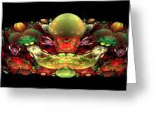 Bowl Of Fruit Greeting Card