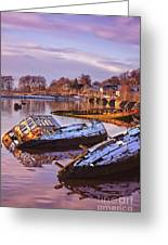 Bowling Harbour 03 Greeting Card