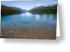Bowman Lake Greeting Card