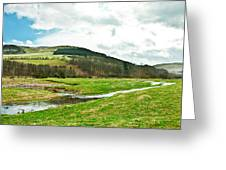 Bowmont Valley Greeting Card