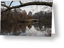 Bows And Arches - New York City Central Park Greeting Card