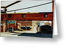 Box Factory Greeting Card by Edward Hopper