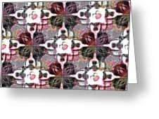 Boxer Abstract 20130126v4 Greeting Card