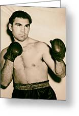 Boxer Max Schmeling - 1930s Greeting Card