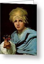 Boy With A Turban Greeting Card