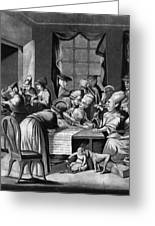 Boycott Of British Tea Greeting Card