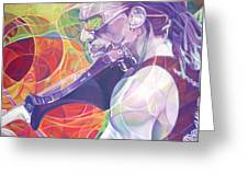 Boyd Tinsley And Circles Greeting Card