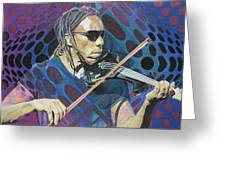 Boyd Tinsley Pop-op Series Greeting Card by Joshua Morton