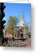 Boyle County Courthouse 3 Greeting Card