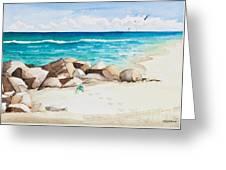 Boynton Beach Inlet Watercolor Greeting Card