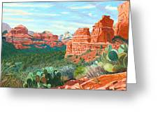 Boynton Canyon Greeting Card