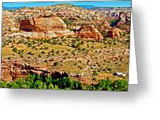 Boynton Overlook On Highway 12 In Grand Staircase-escalante National Monument-utah Greeting Card