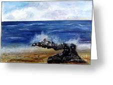 Boynton Waves Greeting Card