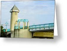 Boyton Beach Bridge Greeting Card