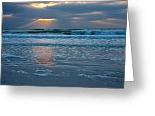 Bradenton Beach Sunset Greeting Card