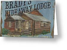 Brady's Hideaway Greeting Card