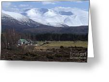 Braeriach From Whitewell Greeting Card