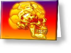 Brain Storm Greeting Card