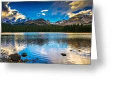 Brainard Lake Greeting Card