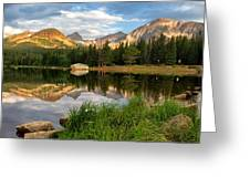 Brainard Lake Reflections Greeting Card