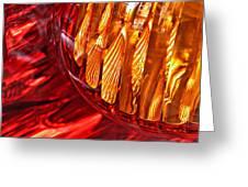 Brake Light 17 Greeting Card