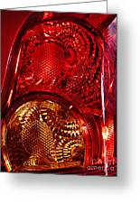 Brake Light 45 Greeting Card