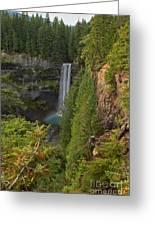 Brandywine Falls Plunge Greeting Card