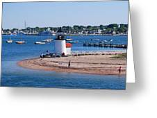 Brant Point  Greeting Card