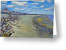 Brant Rock Beach Greeting Card