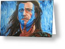 Braveheart Greeting Card by Andrei Attila Mezei