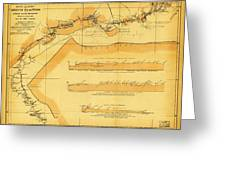Brazil Cuiaba River 1883 Greeting Card