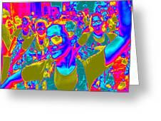 Brazilian Carnival Greeting Card by Arie Arik Chen