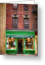 Bread Store New York City Greeting Card