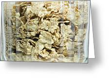 Breakfast Cereals Greeting Card