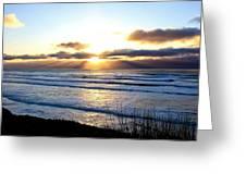 Breaking Dawn Greeting Card