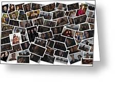 Breaking Dawn Part 2 Pile Of Pics Greeting Card
