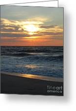 Breaking Through The Day Greeting Card