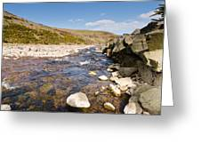 Breamish River Greeting Card