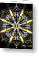 Breath Mandala Greeting Card