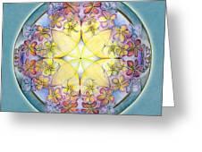 Breath Of Life Mandala Greeting Card