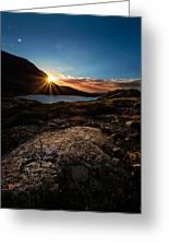 Breathless Sunrise II Greeting Card