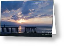 Breathtaking Sunset Greeting Card