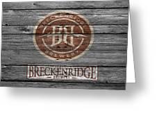 Breckenridge Brewery Greeting Card