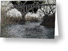 Brecksville Bridge Greeting Card