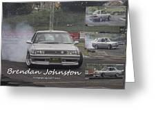 Bredan Johnston Greeting Card