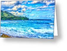 Breezy Hawaii Morning Greeting Card