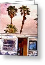 Breezy Day Palm Springs Greeting Card