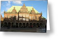 Bremen Town Hall Germany Greeting Card